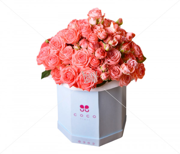 Flower arrangement Delfina (large) Coco Fiori