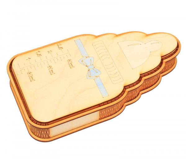 Շոկոլադե կոնֆետների հավաքածու «Փայտե կաթի շիշ» Gourmet Dourme