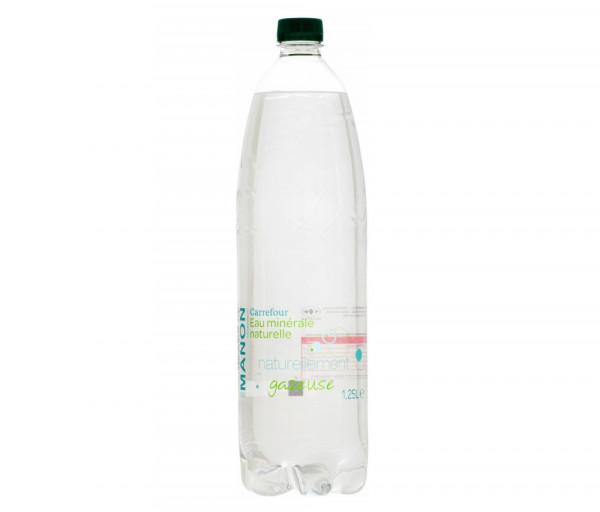 Քարֆուր Հանքային Գազավորված ջուր 1լ