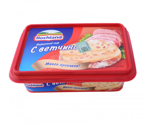 Հոխլանդ Հալած պանիր խոզապուխտով 200գ