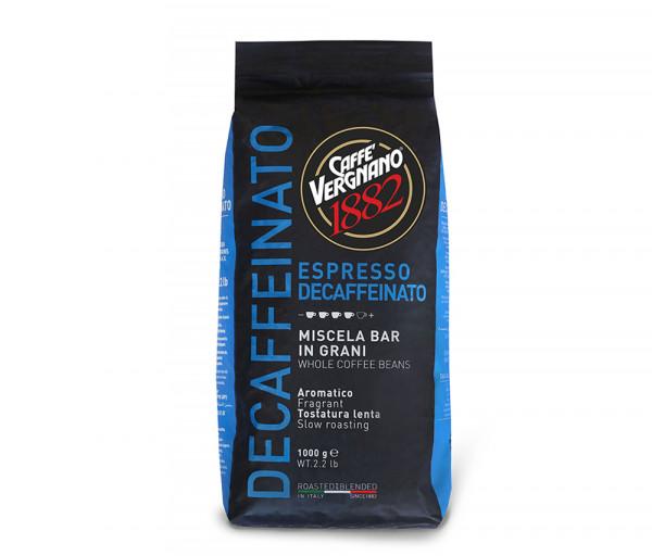 Հատիկավոր սուրճ Դեկաֆեինեյթիդ 1կգ Caffe Vergnano
