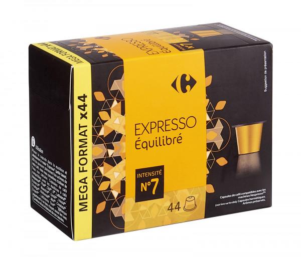 Քարֆուր Սուրճ Էսպրեսո N7 Կապսուլաներ x44