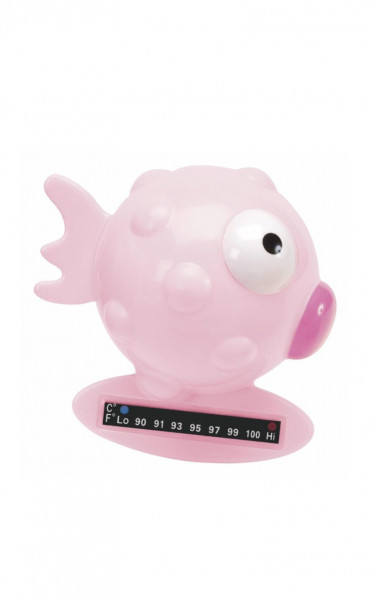 Bath Thermometer Fish Pink 401190CH
