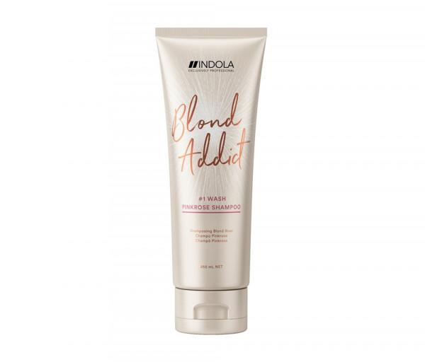 Pink shampoo Blond Addict Innova Indola 250ml