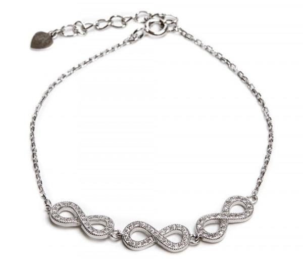Silver bracelet SB161