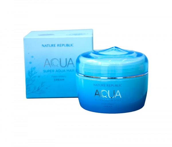 Դեմքի քսուք յուղոտ մաշկի համար «Aqua Fresh Watery» Nature Republic 80մլ