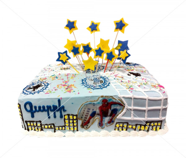 Տորթ «Սարդ մարդ» Kalabok Cake