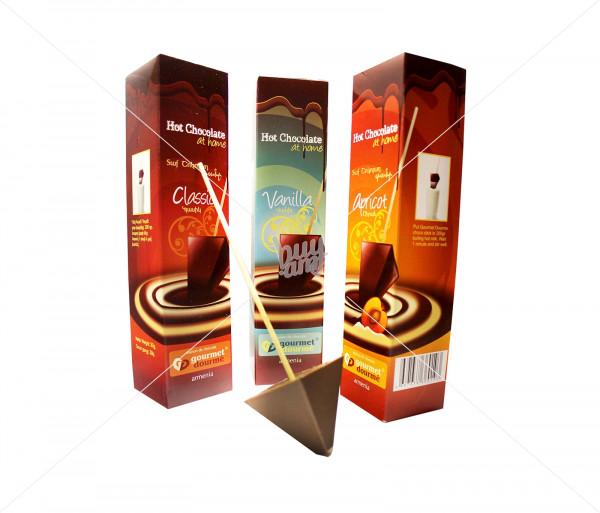 Տաք շոկոլադ «Ծիրան, Կլասիկ» Gourmet Dourme